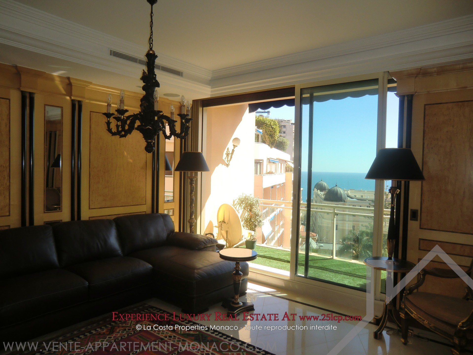 Monte carlo elegant furnished apartment appartamenti for Soggiorno a montecarlo