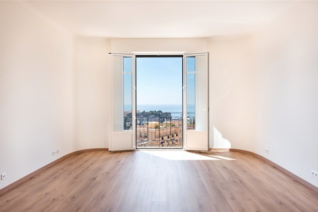 Renovated 2 bedroom flat with beautiful sea view - Appartamenti in vendita a MonteCarlo